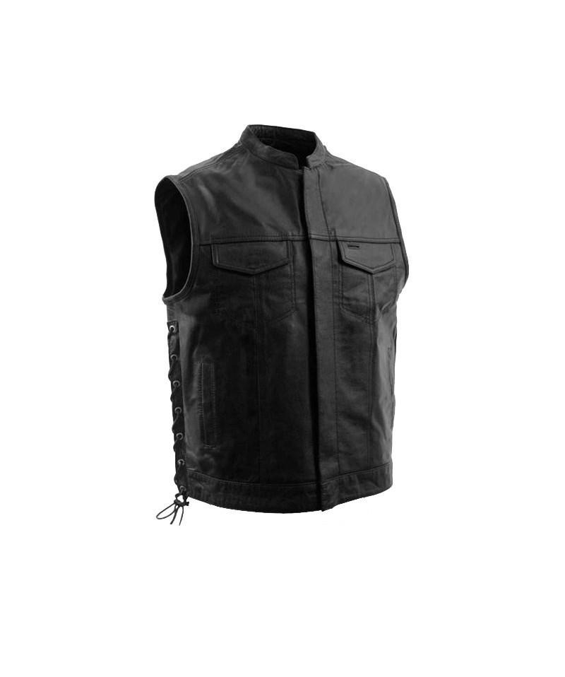 Men Leather Vest