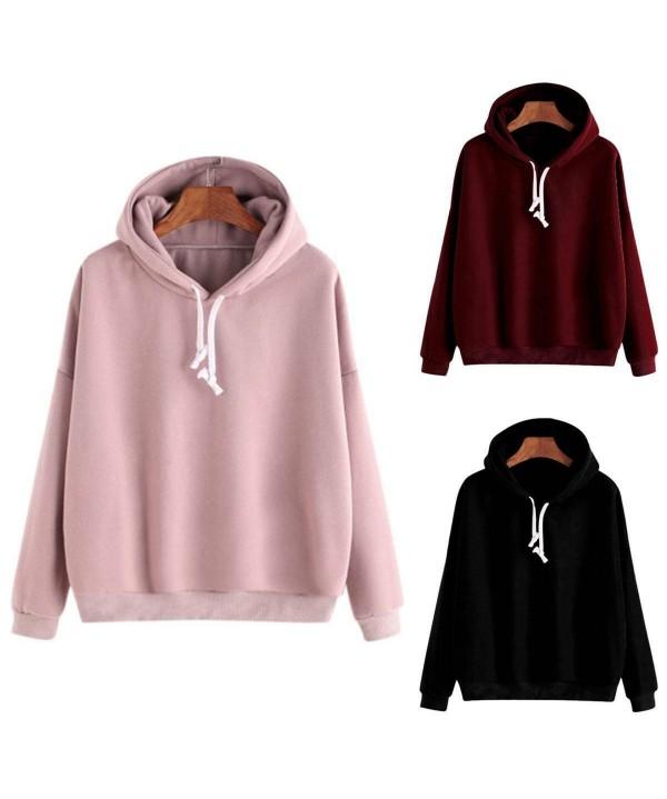 2020-2021 Women Hooded Sweatshirt Warm Hoodies Tops Jumper Loose Pullover Casual Overcoat