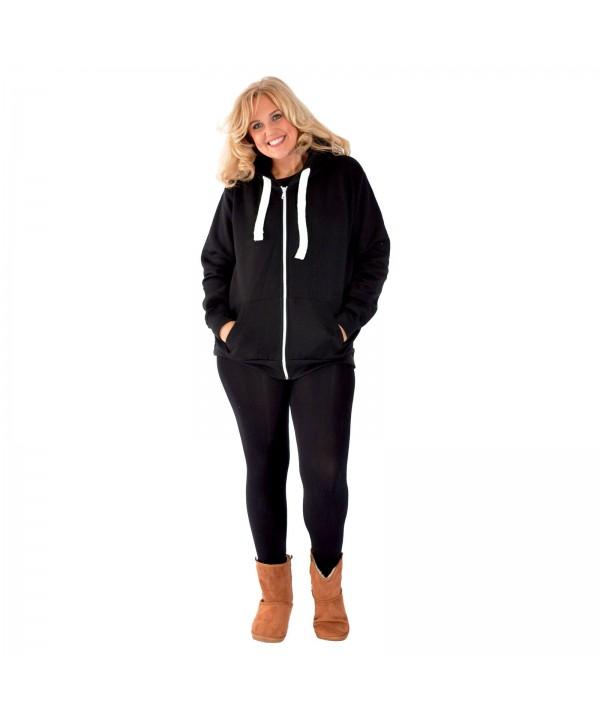 2020 New Women Plus Size Hoodies Ladies Plain Sweat Top Drawstrings Hooded Sale Soft