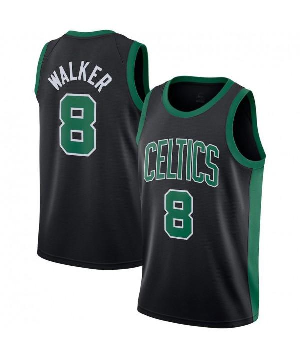 Men's Boston Celtics Jordan Brand Black 2020-21 Swingman Jersey