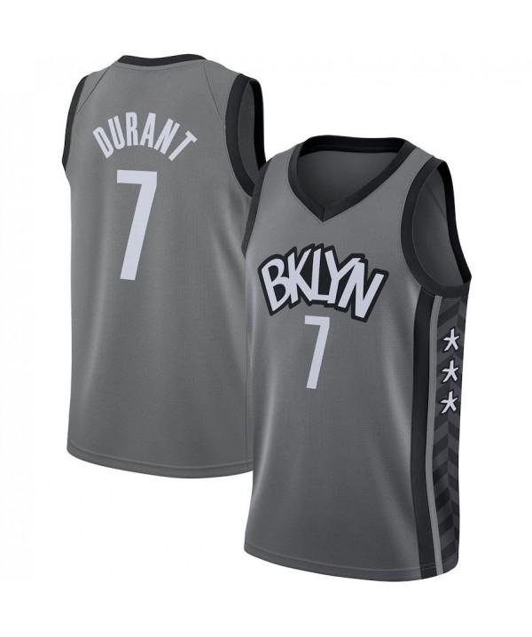 Men's  Jordan Brand Gray 2020-21 Swingman Jersey